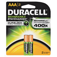 Duracell 66158 Duralock Battery Recharge Nimh 2Pk/Aaa 2 Pack