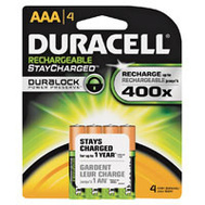 Duracell 66160 Duralock Pack Of 4 Rechargeable AAA Batteries