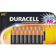 Duracell MN1500B16 Battery Alkaline Cu Top 16/Aa