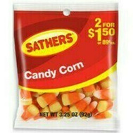 Sathers 10155 Candy Corn Bag 3.25 Ounce