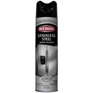 Weiman 2 Cleaner Aerosol S/Stl 12 Ounce