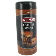 Weiman 91 Wipes Cleaning Leather