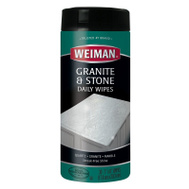 Weiman 94E Granite Wipes 30 Count Package