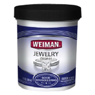 Weiman 2306 Cleaner Jewelry With Brush 7 Ounce