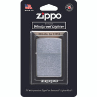 Ronson 207BG-PPK Zippo Classic Pocket Lighter Windproof Street Chrome Finish