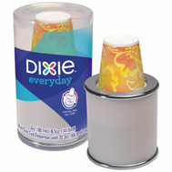 Georgia Pacific 14011/07 Dixie 20 3 Ounce Cup Combo Dispenser