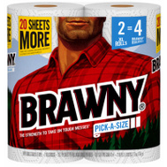 Georgia Pacific 44192 Brawny Towel Brawny 2Xl White Pas