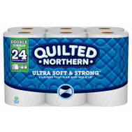 Georgia Pacific 94267 Quilted Northern Ultra Soft & Strong Bath Tissue (Pack Of 12)
