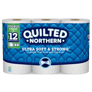 Georgia Pacific 94271 Quilted Northern Soft & Strong White Bath Tissue (6 Rolls)