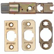 Kwikset 81826-001 Parts 6 Way Adjustable Plain Latch Polished Brass