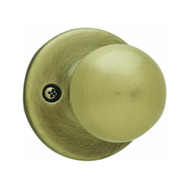 Kwikset 488P 5 CP Polo Half Dummy Knob Pull Antique Brass