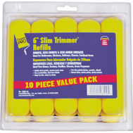 Foampro 75RS-10 6 Inch Slim Trimmer Foam Refills Pack Of 10