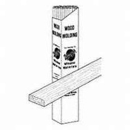 Warp Brothers SM750 Molding Wood Trim 1/4 Inch By 5/8 Inch By 3 Foot