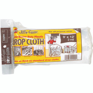 Warp Brothers 2JC-912 Jiffy Cover Drop Cloth Plastic Extra Heavy Duty 9 Foot By 12 Foot