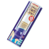 Warp Brothers PM125-C 12 By 25 Foot Clear Shelf Liner