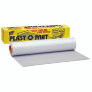 Warp Brothers PM-50 Plast O Mat 50 Foot By 30 Inch Clear Shelf Liner