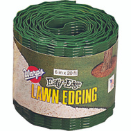 Warp Brothers LE620G Easy Edge Landscape Edging Plastic 6 Inch By 20 Foot