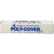 Warp Brothers 4X4CC Poly Cover Polyethylene Sheeting Clear 4 Mm 4 Foot By 200 Foot