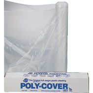 Orgill Poly 6X84-C Poly Film 6 Mil Plastic Clear Polyethylene Film 8 Foot 4 Inch By 100 Foot
