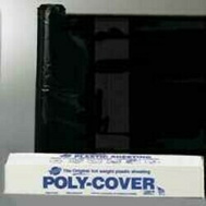 Warp Brothers 4X3BB Poly Cover Polyethylene Sheeting Black 4 Mm 3 Foot By 200 Foot