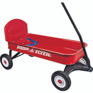 Radio Flyer 93BA Ranger Wagon With Seat Belt
