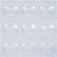 Kenney Manufacturing KN61292 Mat Bath Clear Bubbles 15X31in