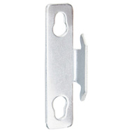 Kenney KN851 Bracket Single Style 1Pr Chrm