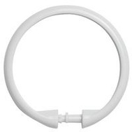 Kenney KN61217 Shower Ring Smooth White