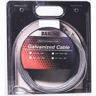 Baron 76005/50067 1/16 Inch By 100 Foot 7X7 Galvanized Aircraft Cable