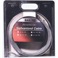 Baron 57005/50075 3/16 Inch By 100 Foot 7X19 Galvanized Aircraft Cable