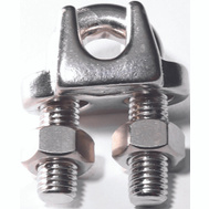 Baron S850-842 5/16 Inch Wire Cable Clamp Stainless Steel
