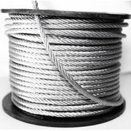 Baron 695938 Cable Galv 7X19 1/4X250ft