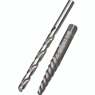 Irwin 53704 EX-4 Spiral Screw Extractor And 1/4 Inch Drill Bit Combo Pack