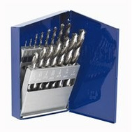 Irwin 60137 15 Piece High Speed Steel Metal Index Drill Bit Set 1/16 To 1/2 Inch