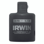 Irwin 1877498 Adapter Socket Reducer 1/2-3/8 Inch