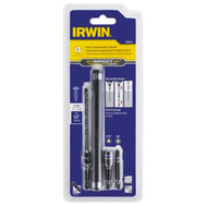 Irwin 1888628 3/16 Inch Impact Hex Drive Installation Set For 1/4 Inch Tapcons