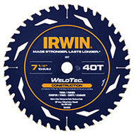 Irwin 1934298 Weld Tech Saw Blade 7-1/4In 40T Bulk