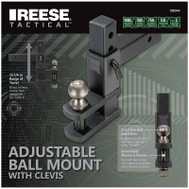 Reese Towpower 7089444 Ball Mount With Clevis Adj 2In