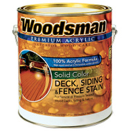 General Paint ADS1-GL Woodsman Gallon Solid White Deck Stain