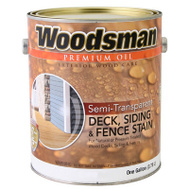 General Paint STOV10-GAL Woodsman Gallon Redwood House Stain