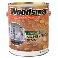 General Paint WSOV1-GAL Woodsman Gallon White Solid House Stain