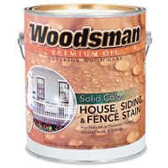 General Paint WSOV27-GAL Woodsman Gallon Brown Solid House Stain