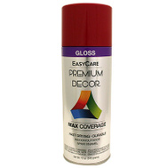 General Paint PDS96-AER Premium Decor Fiesta Red Gloss Spray Enamel