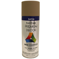 General Paint PDS154-AER Premium Decor Khaki Satin Spray Enamel