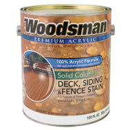General Paint ADS10-GL Woodsman Gallon Redwood Acrylic Stain
