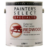 General Paint LRW1-GL Painters Select Gallon Redwood Stain