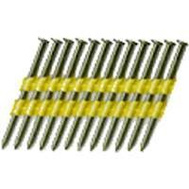National Nail 0616190 Pro Fit 3-1/4 Inch By 0.131 Smooth Shank 22 Degree Plastic Collated Framing Nails (Pack Of 4000)