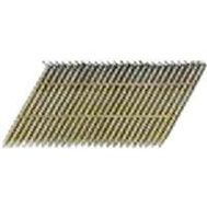 National Nail 0630171 Pro Fit 3 Inch By 0.121 Ring Shank 28 Degree Wire Strip Collated Framing Nails (Pack Of 2000)