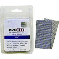 National Nail 0712454 Pro Fit 1-3/4 Inch By 16 Gauge Smooth Shank Brad (Pack Of 1000)