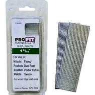 National Nail 0718205 Pro Fit 1-9/16 Inch By 18 Gauge Collated Brad Nails (Pack Of 1000)